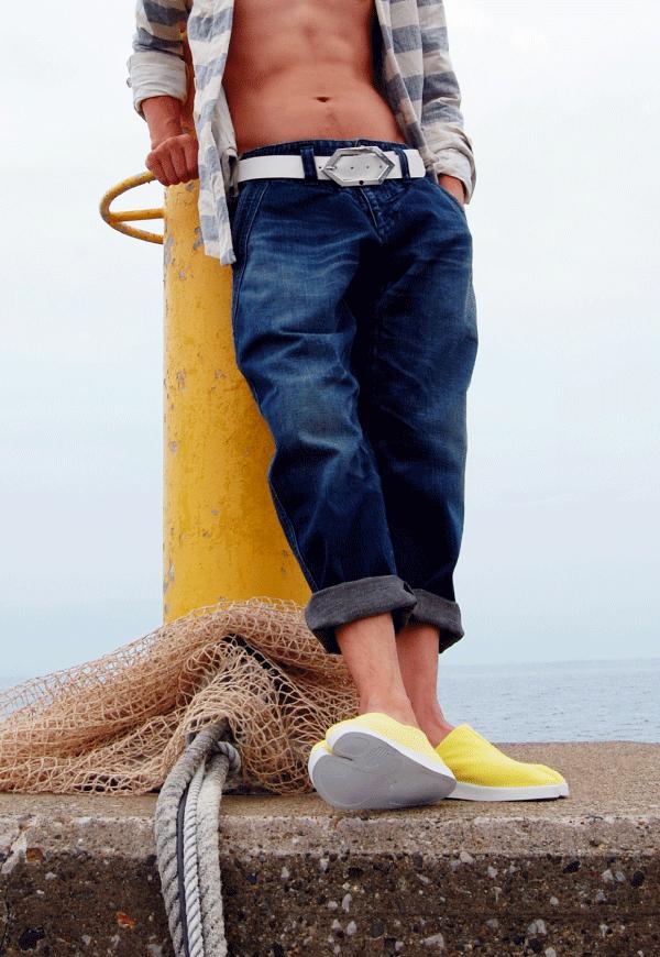 渚スナップ1 ~地下足袋のある風景~