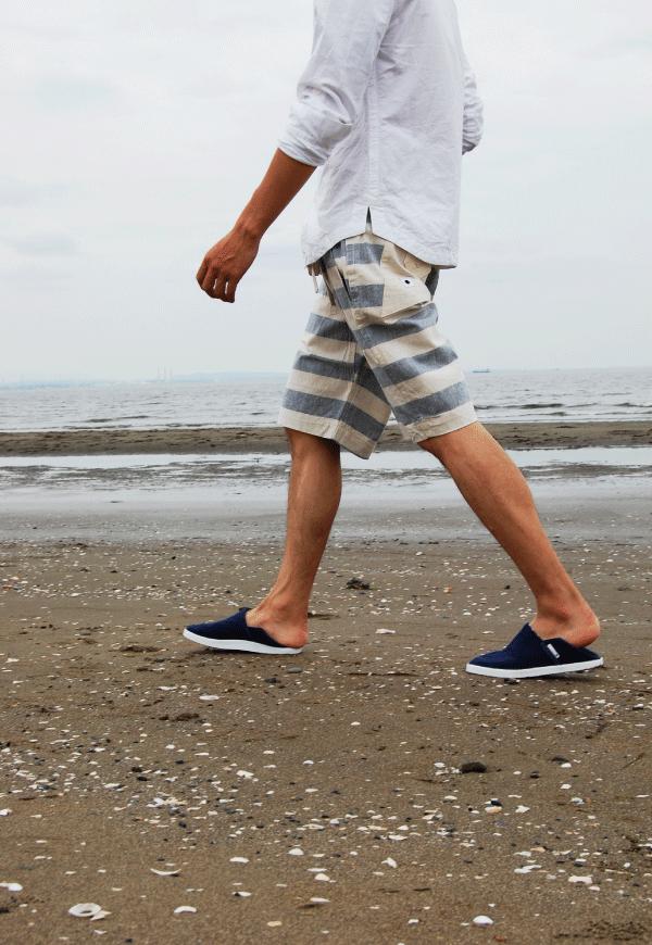 渚スナップ2 ~地下足袋のある風景~